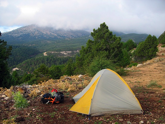 127_2738 & Our tent on the cliff | Travels in Turkey | Jeffrey Lindsey